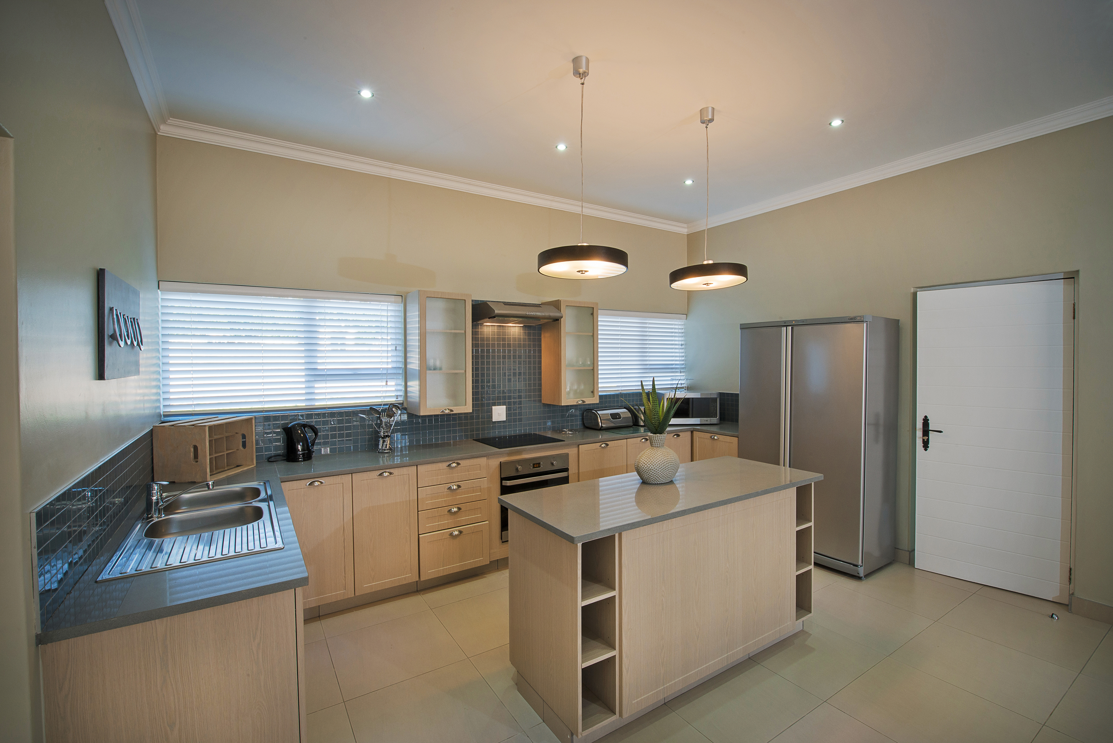 Fully equipped self-catering kitchen