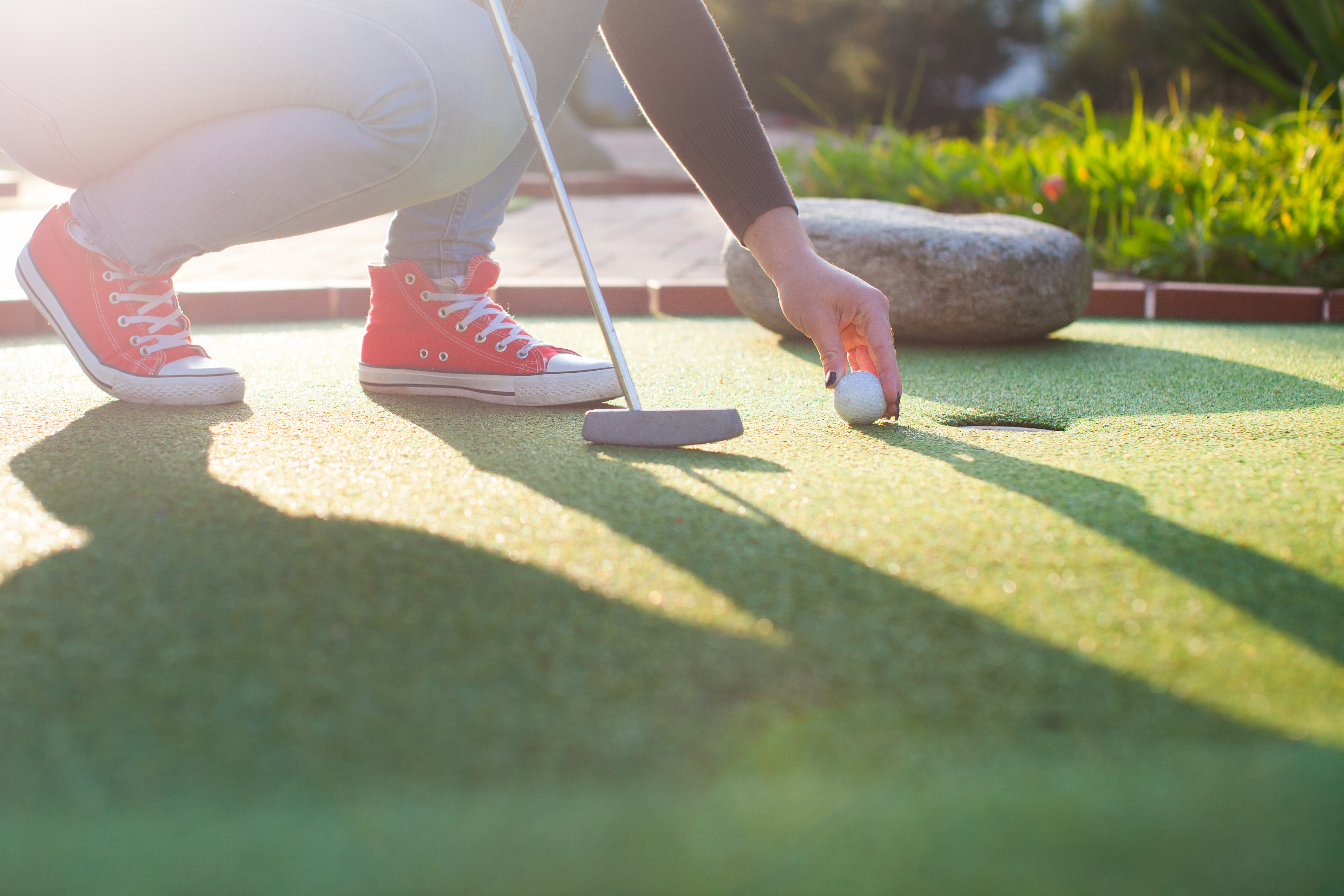 Our Entertainment Centre offers putt-putt and other family friendly activities