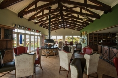 The Sporting Horse on the Equestrian Estate is well known for their breakfasts and awesome views