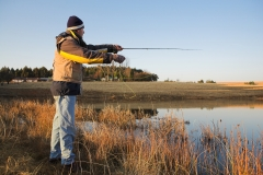 The resort is a popular choice for fly-fishing